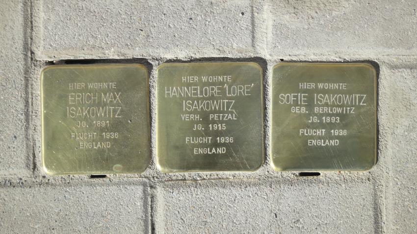 Stolpersteine for web